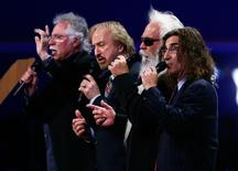 "The Oak Ridge Boys sing the song ""Amazing Grace"" during the second day of the Republican National Convention in Tampa, Florida August 28, 2012   REUTERS/Jason Reed"