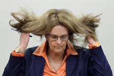 Ex-presidente da Petrobras Maria das Graças Silva Foster na CPI da estatal na Câmara. 26/03/2015 REUTERS/Ueslei Marcelino