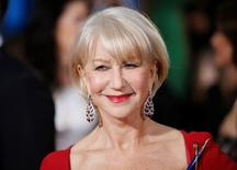 Actress Helen Mirren arrives at the 72nd Golden Globe Awards in Beverly Hills, California in this January 11, 2015 file photo. REUTERS/Danny Moloshok