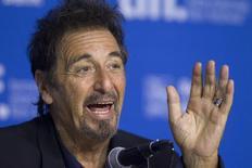 Al Pacino concede entrevista coletiva no Festival de Filmes de Toronto, no Canadá, no ano passado. 07/07/2014 REUTERS/Fred Thornhill
