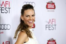 Atriz Hilary Swank durante evento em Hollywood. 11/11/2014. REUTERS/Danny Moloshok