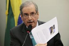 Presidente da Câmara dos Deputados, Eduardo Cunha (PMDB-RJ),  em foto de arquivo.  12/03/2015   REUTERS/Ueslei Marcelino