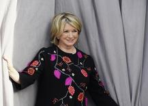 TV personality Martha Stewart poses during Comedy Central Roast of Justin Bieber at Sony Studios in Culver City, California March 14, 2015.  REUTERS/Kevork Djansezian