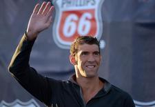 Michael Phelps durante competição nos Estados Unidos no ano passado. 10/08/2014 REUTERS/Kirby Lee/USA Today