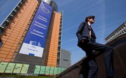 La Commission européenne va lancer une enquête approfondie sur les plates-formes internet telles que Google, Microsoft ou Yahoo pour s'assurer qu'elles sont suffisamment transparentes dans l'affichage des résultats des recherches. /Photo prise le 9 avril 2015/REUTERS/Yves Herman - RTR4WOU0