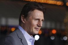 Ator Liam Neeson posa para foto durante evento em Los Angeles, nos Estados Unidos, em fevereiro. 24/02/2014 REUTERS/Fred Prouser