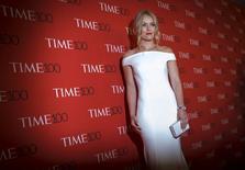 Skier Lindsey Vonn arrives for the TIME 100 Gala in New York. REUTERS/Brendan McDermid