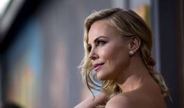 Atriz Charlize Theron em Hollywood. 7/5/2015 REUTERS/Mario Anzuoni