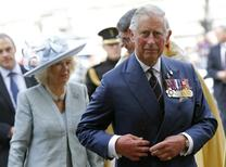 Príncipe Charles durante evento em Londres. 10/5/2015.  REUTERS/Suzanne Plunkett