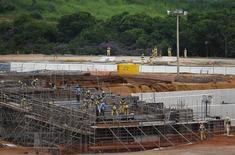 Construção do complexo esportivo de Deodoro para os Jogos Olímpicos de 2016, no Rio de Janeiro. 02/04/2015 REUTERS/Ricardo Moraes
