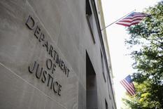 Fachada do Departamento de Justiça dos EUA, em Washington. 14/07/2009   REUTERS/Jonathan Ernst