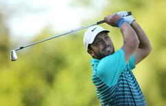 Italy's Francesco Molinari in action during the first round Action Images via Reuters / Paul Childs Livepic