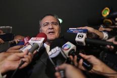 Senador Renan Calheiros (PMDB-AL) 4/3/2015 REUTERS/Ueslei Marcelino