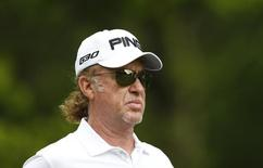 Golf - BMW PGA Championship - Virginia Water, Surrey, England - 23/5/15 Spain's Miguel Angel Jimenez during the third round Action Images via Reuters / Andrew Boyers Livepic
