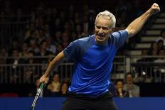 John McEnroe of the U.S.  in Hong Kong March 4, 2013. REUTERS/Tyrone Siu