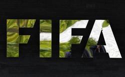 Logo da Fifa visto na sede, em Zurique.   27/03/2015    REUTERS/Ruben Sprich