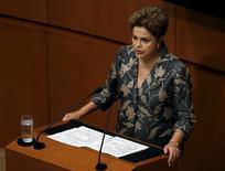 Presidente do Brasil, Dilma Rousseff, durante visita ao México, em foto de arquivo.  27/05/2015    REUTERS/Henry Romero