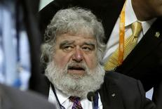 Foto de arquivo do ex-membro do comitê executivo da Fifa Chuck Blazer durante Congresso da Fifa em 2011, em Zurique. 01/06/2011 REUTERS/Arnd Wiegmann