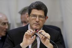 Ministro da Fazenda, Joaquim Levy, durante encontro em Brasília.   05/06/2015   REUTERS/Ueslei Marcelino