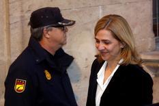 Cristina de Borbón, irmã do rei Felipe 6º, da Espanha, em foto de arquivo. 08/02/2014 REUTERS/Albert Gea