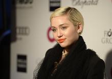 Miley Cyrus, em foto de arquivo. 22/02/2015 REUTERS/Gus Ruelas