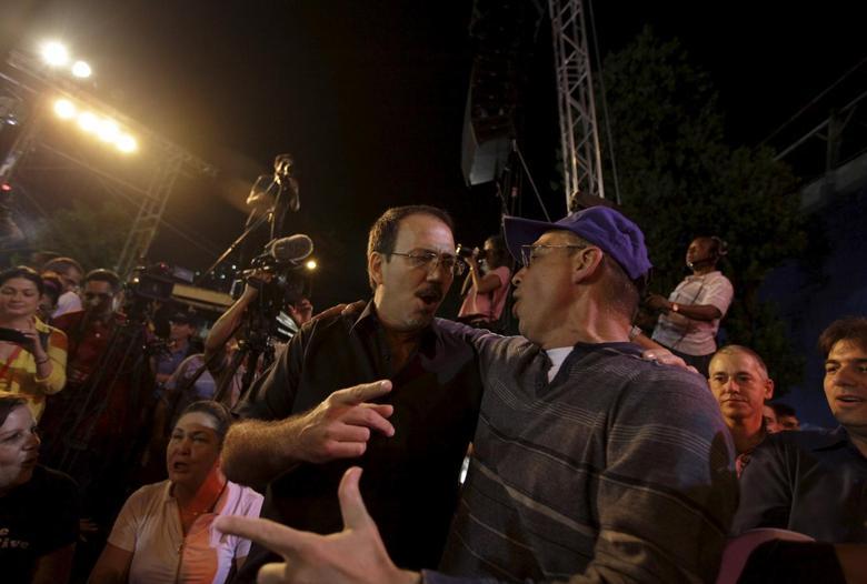 Alejandro Castro Espin (L), 49, son of Cuba's president Raul Castro  in Havana in this picture taken December 20, 2014.   REUTERS/Enrique de la Osa