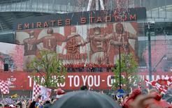 Estádio do Arsenal em Londres 31/5/15 Reuters / Alex Morton