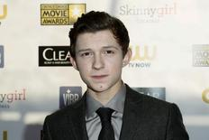"Actor Tom Holland from ""The Impossible"" arrives at the 2013 Critic's Choice Awards in Santa Monica, California in this January 10, 2013 file photo.  REUTERS/Danny Moloshok/Files"