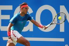 Aegon Championships - Queens Club, London - 16/6/15. Spain's Rafael Nadal in action during his first round match. Action Images via Reuters / Paul Childs Livepic