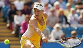 Tennis - Aegon International - Devonshire Park, Eastbourne - 24/6/15 Denmark's Caroline Wozniacki in action during the third round match Action Images via Reuters / Henry Browne Livepic