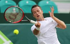 Tennis - Boodles Tennis Challenge - Stoke Park, Buckinghamshire - 24/6/15 Germany's Philipp Kohlschreiber in action Action Images via Reuters / Paul Childs Livepic