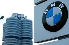 Le constructeur allemand BMW, la banque australienne Macquarie Group et plusieurs fonds d'investissements américains figurent parmi les candidats à la reprise du portefeuille de prêts automobiles et d'équipements d'Australia and New Zealand Banking Group, d'une valeur de près de six milliards d'euros. /Photo prise le 17 mars 2015/REUTERS/Michaela Rehle
