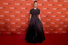 Dancer Misty Copeland arrives for the TIME 100 Gala in New York in this file photo from April 21, 2015.  REUTERS/Brendan McDermid/Files