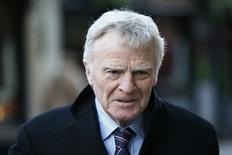 Former FIA racing chief Max Mosley leaves the High Court in London January 14, 2015. REUTERS/Stefan Wermuth