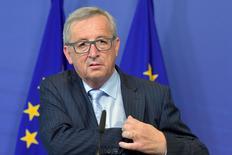 Presidente-executivo da Comissão Europeia, Jean-Claude Juncker, em Bruxelas. 01/07/2015 REUTERS/Eric Vidal