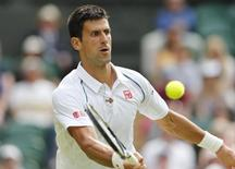 Tenista Novak Djokovic em Londres 3/7/2015 REUTERS/Suzanne Plunkett