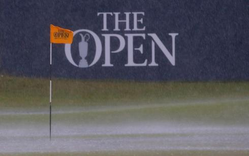 All wet at the British Open