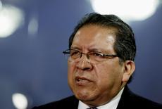 Procurador-geral do Peru, Pablo Sanchez, durante entrevista à Reuters em seu gabinete em Lima. 17/07/2015 REUTERS/Mariana Bazo