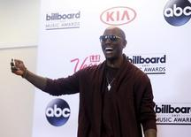 Actor Tyrese Gibson poses backstage during the 2015 Billboard Music Awards in Las Vegas, Nevada May 17, 2015. REUTERS/L.E. Baskow