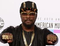 Will.i.am, from the Black Eyed Peas, arrives at the 40th American Music Awards in Los Angeles, California, November 18, 2012.   REUTERS/Jonathan Alcorn