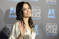 """Unbroken"" director Angelina Jolie arrives at the 20th Annual Critics' Choice Movie Awards in Los Angeles, California January 15, 2015. REUTERS/Kevork Djansezian"