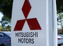 A Mitsubishi Motors dealership is shown in Poway, California July 27, 2015.  REUTERS/Mike Blake