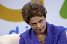 Presidente Dilma Rousseff durante cerimônia em Brasília. 28/07/2015 REUTERS/Ueslei Marcelino