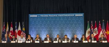 Un nouveau cycle de discussions sur le projet d'accord de libre-échange transpacifique a échoué en raison notamment d'un blocage entre le Japon et l'Amérique du Nord sur le secteur de l'automobile et de l'insistance de la Nouvelle-Zélande sur le commerce des produits laitiers. /Photo prise le 31 juillet 2015/REUTERS/Marco Garcia