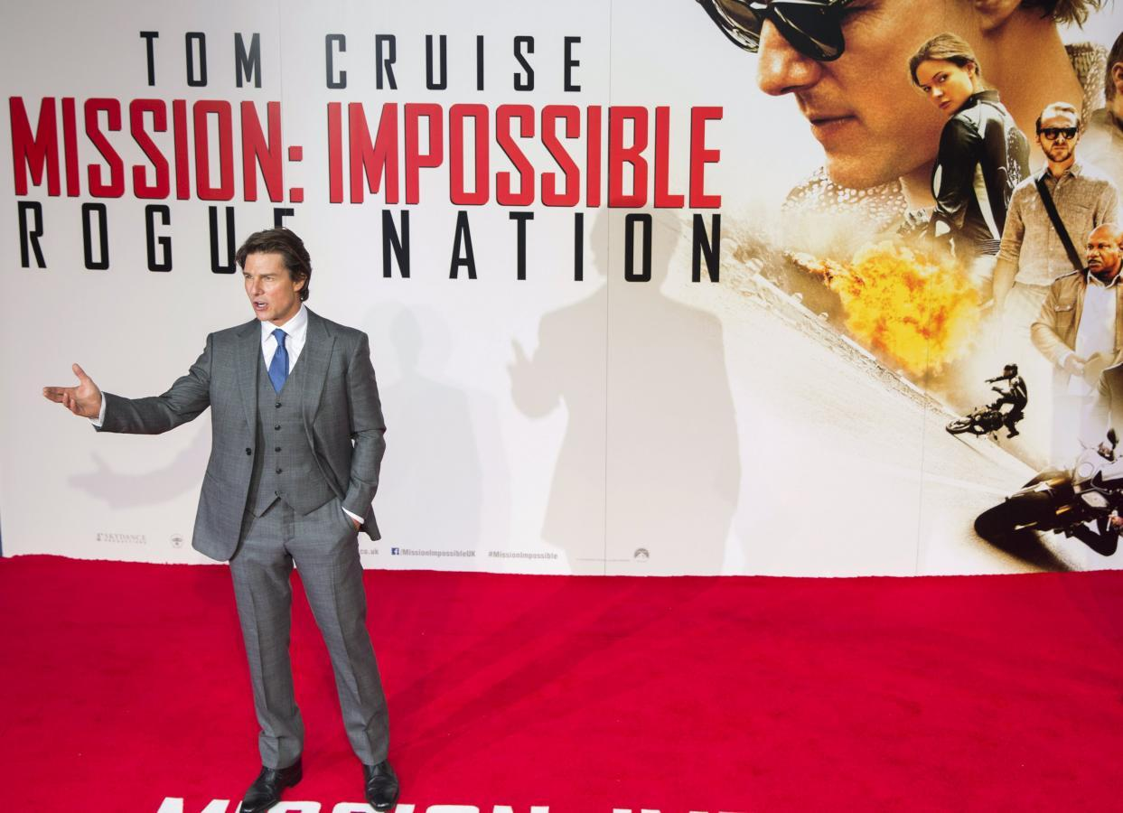 Box Office: Tom Cruise's 'Mission: Impossible -- Rogue Nation' Dominates with $56 Million