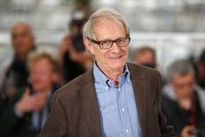 Diretor Ken Loach no Festival de Cannes.  22/5/2014.         REUTERS/Benoit Tessier