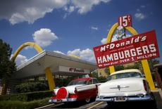 The McDonald's Restaurant Store Museum is seen in the Chicago suburb of Des Plaines, Illinois, United States, July 23, 2015.  REUTERS/Jim Young