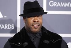 Busta Rhymes durante premiação do Grammy em Los Angeles.  12/2/2012.   REUTERS/Danny Moloshok