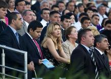 Gulnara Karimova (C), daughter of Uzbekistan's President Islam Karimov attends an Independence Day celebration in Tashkent August 31, 2012. REUTERS/Shamil Zhumatov