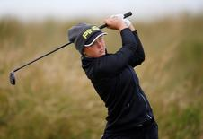RICOH Women's British Open 2015. Trump Turnberry Resort, Scotland - 31/7/15. Canada's Brooke Henderson during the second round. Action Images via Reuters / Russell Cheyne